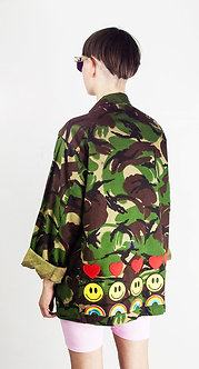 Rainbow Camo Jacket