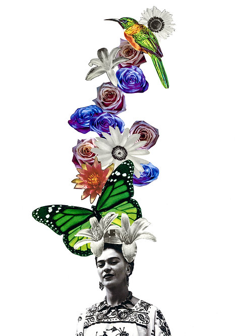 Frida - A4 Art Print