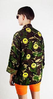 Smiley Camo Jacket