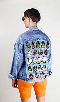 Fruity Denim Jacket