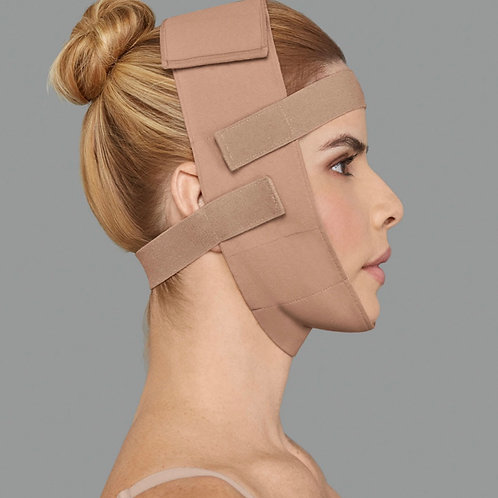 Post-Surgical Facial Compression Wrap
