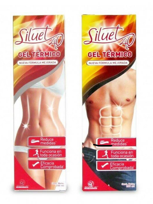 Siluet 40 Fat Burning Gel