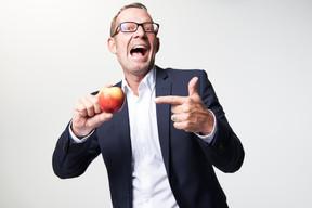 Wie ein Apfel Ihre Präsentation knackiger macht.