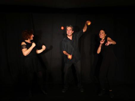 Délices nomades - Spectacle farfelu au théâtre de Paray le Monial ! Joie !