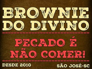 Parceiro Ronromterapia: Brownie do Divino