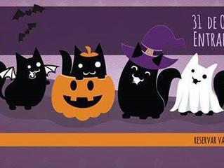 Dia 31/10 tem Ronromterapia de Halloween