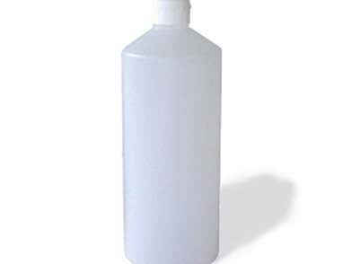 Leerflasche 1l transparent