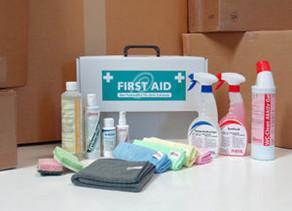 First Aid – die Erste-Hilfe-Putzbox