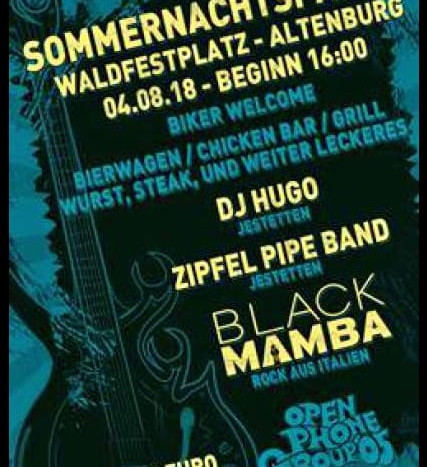 Sommernachtsparty Altenburg