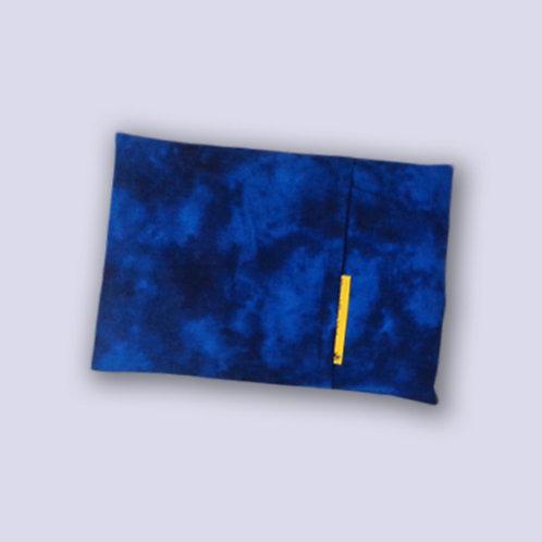 Traubenkernkissen royalblau
