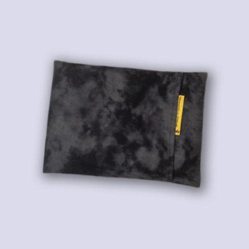 Graues Wärmekissen für die Mikrowelle