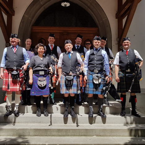 The Free Pipers of Schaffhausen