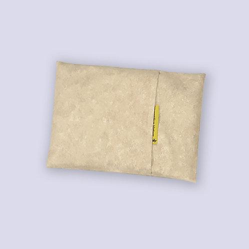 Mikrowellenkissen sandbraun marmoriert