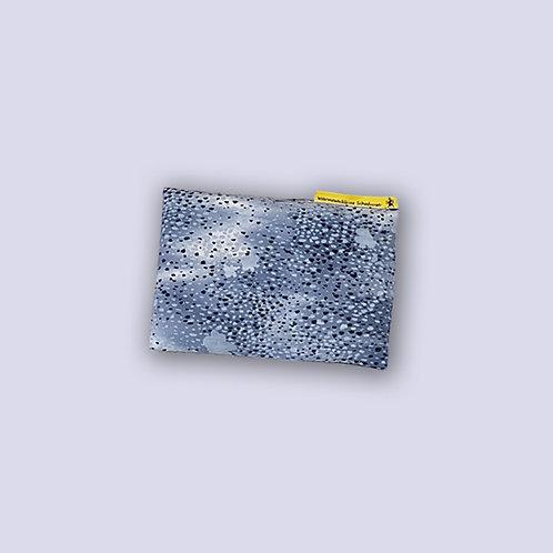 Körnerkissen für Baby Tropfen blau