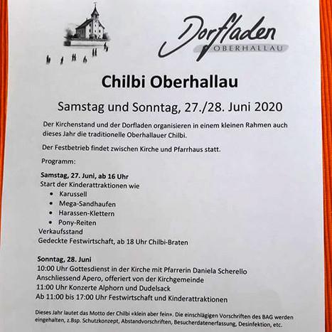 Chilbi Oberhallau