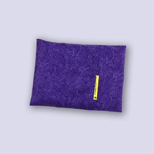 Hirsekissen violett Ranken