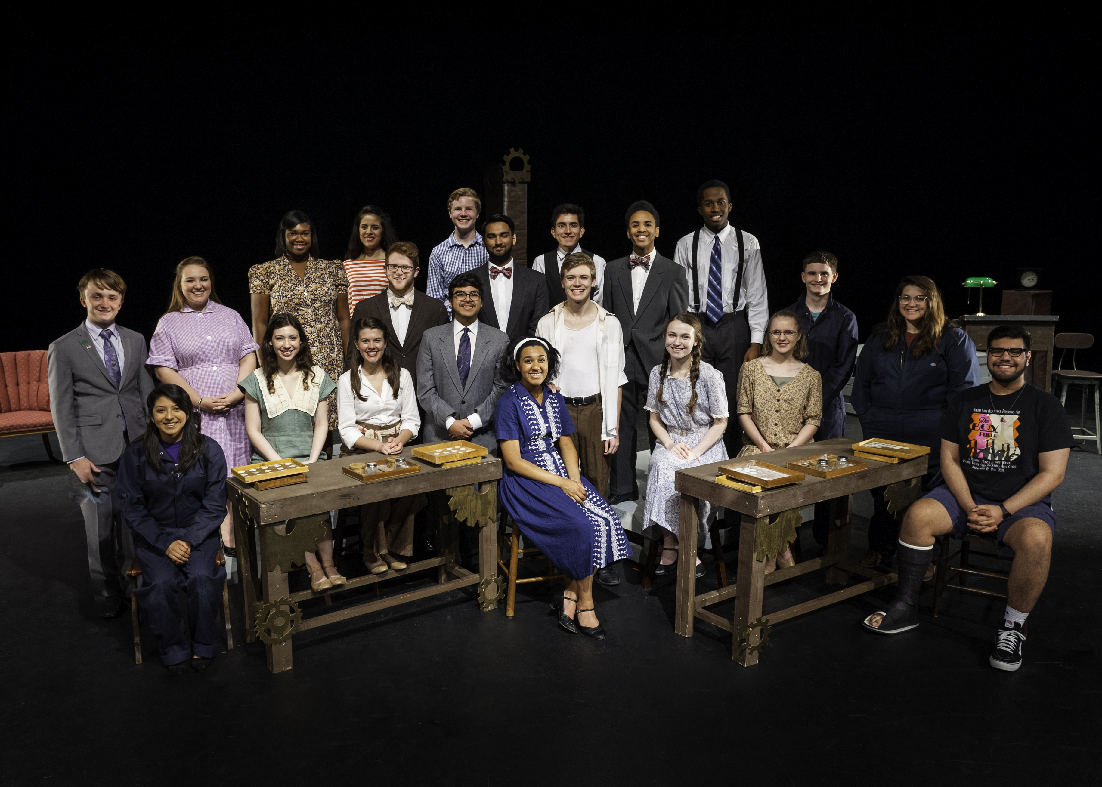 These Shining Lives Cast and Crew