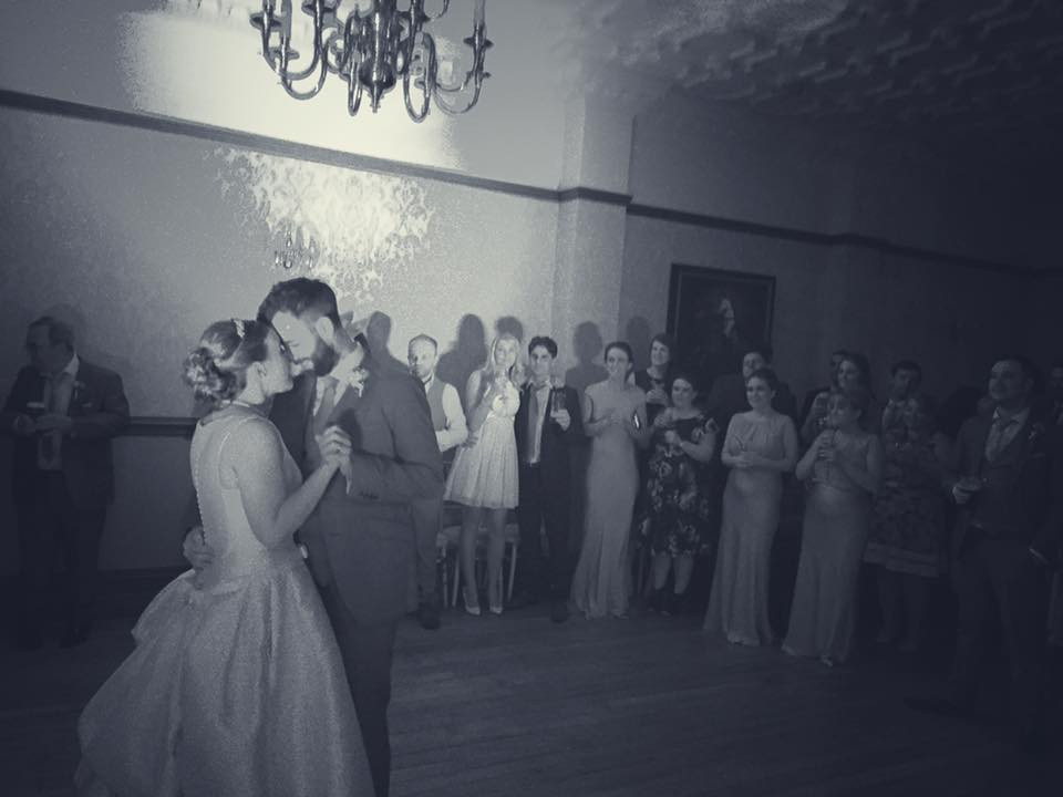 The first dance. Just Perfect.