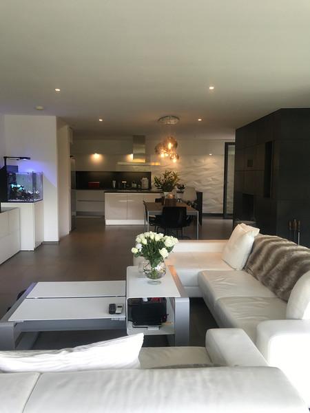 Villa Cureggia salon after