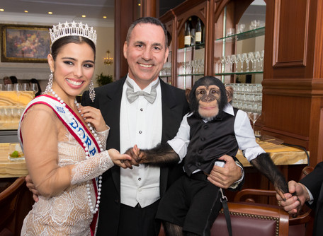 Gala Photography - Dr. Badia and who's the monkey?