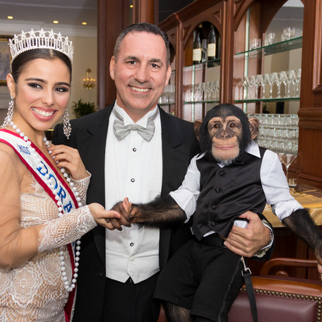 Gala Photography - Dr. Badia and who's the monkey?