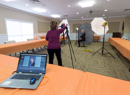 Special Headshot Session at Union County Chamber of Commerce March 17th