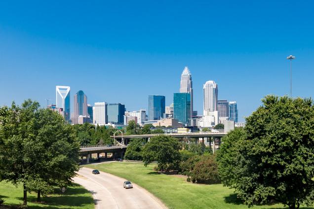 Charlotte-skyline-photos-central-avenue-