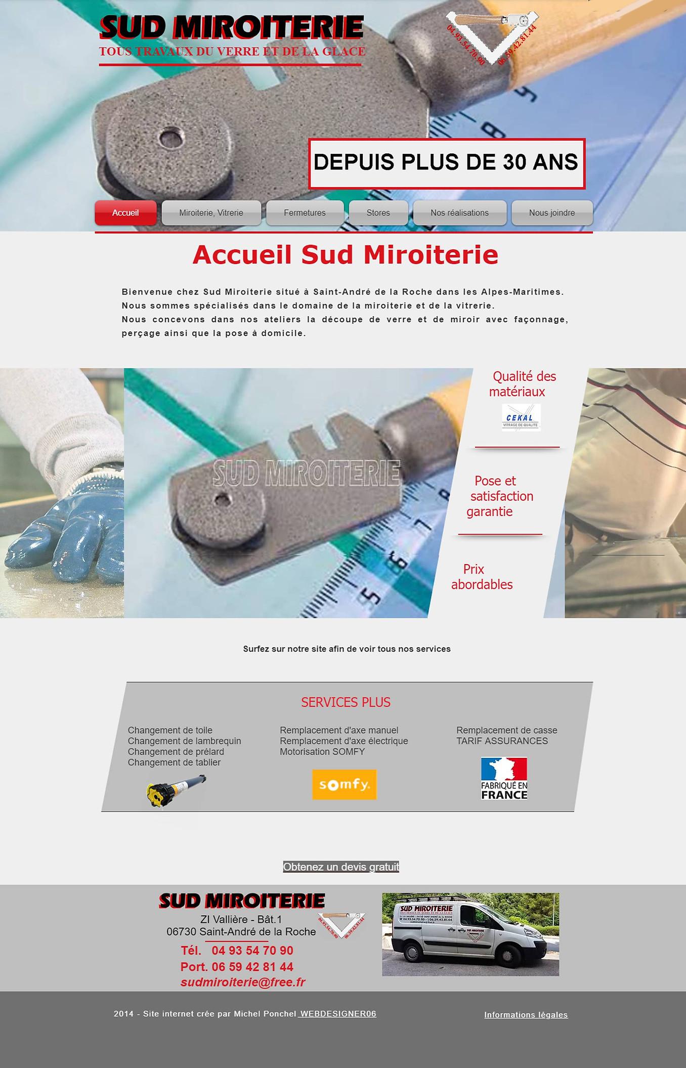 Sud Miroiterie by Webdesigner06