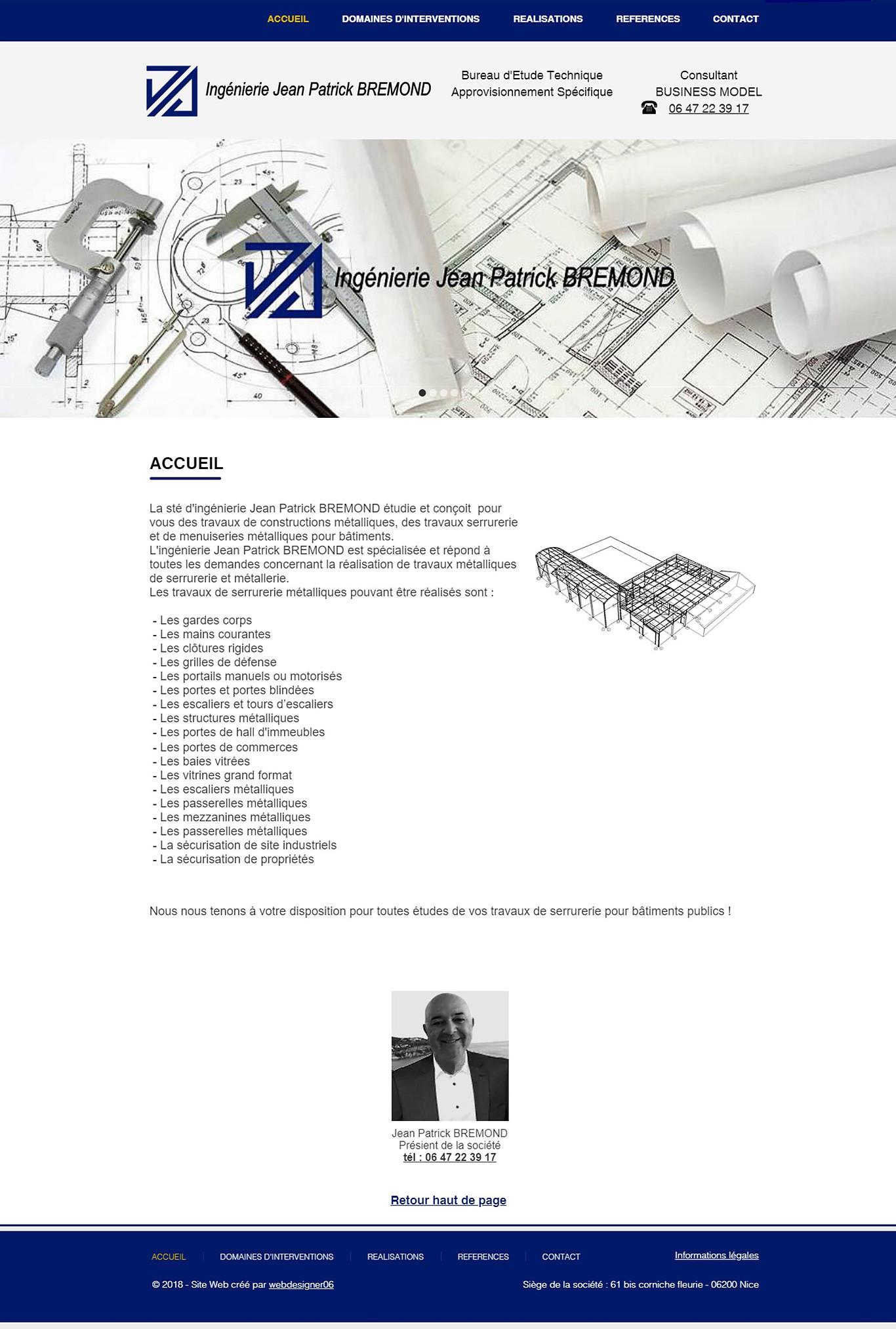 Ingénierie JP Brémond by webdesigner06
