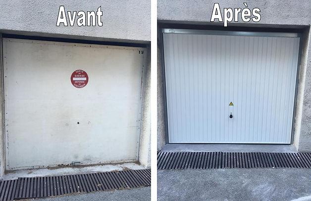 Porte de garage - Fezai Stores et Fermetures
