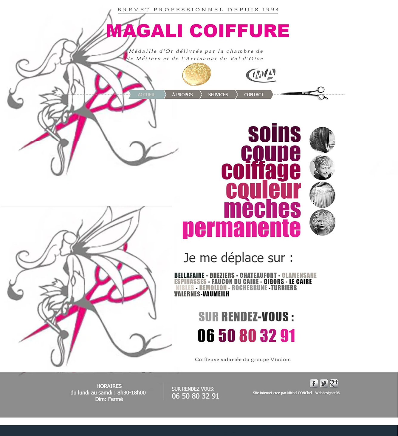Magali Coiffure by webdesigner06