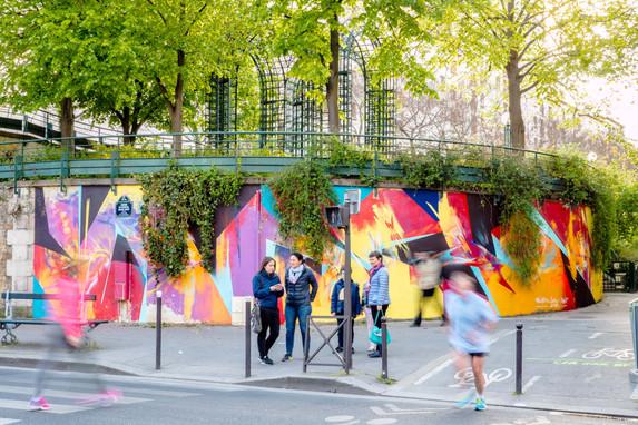 Le Mur 12 Pic by Ivan Kuzmin - Asso Cicero - 2017