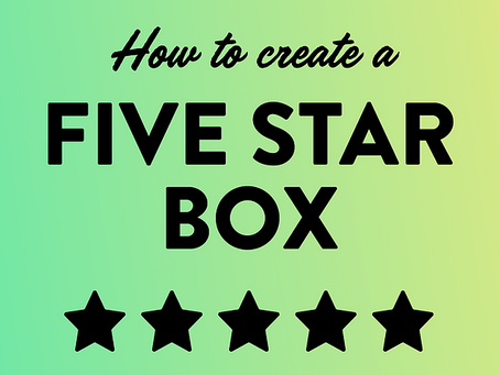 How to Create a 5-Star Subscription Box