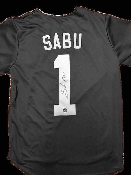 Sabu Signed ECW Baseball Jersey