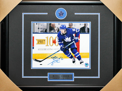 Mitch Marner Signed 8x10 Action Frame