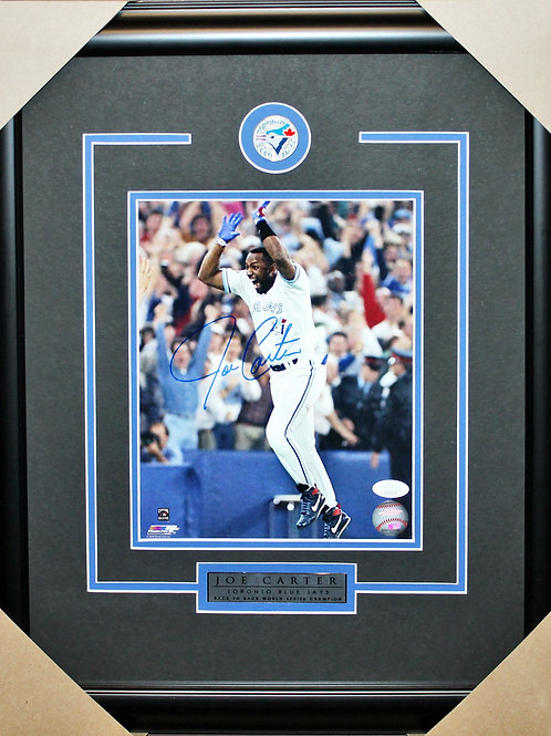 Joe Carter Signed 8x10 Frame