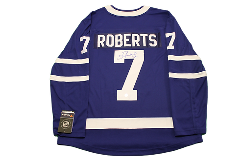 Gary Roberts Signed Home Jersey