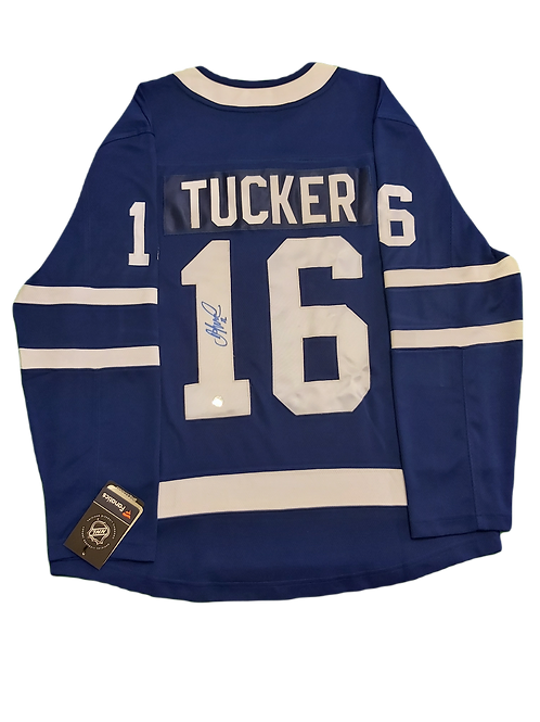 Darcy Tucker Signed Home Jersey