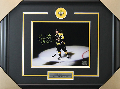 Brad Marchand Signed 8x10 Ice Frame