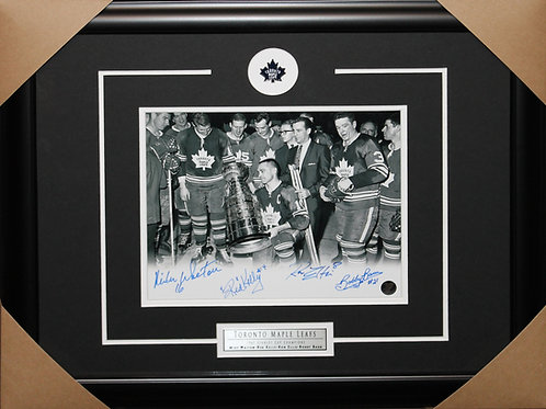Toronto Maple Leafs 1967 Stanley Cup Team signed 8x10 frame