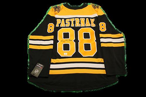 David Pastrnak Signed Home Jersey