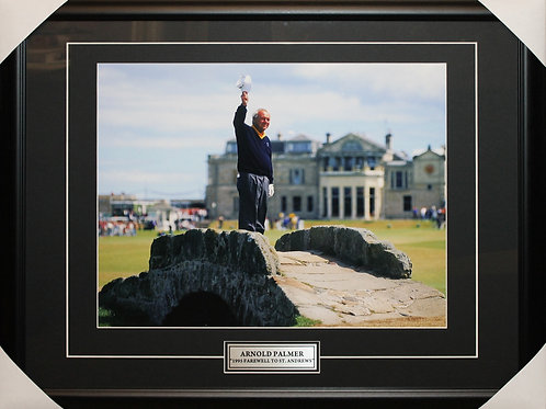Arnold Palmer Unsigned Farewell Frame