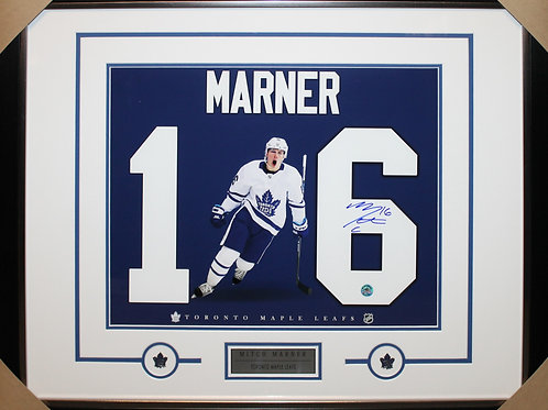 Mitch Marner Signed 16x20 Frame