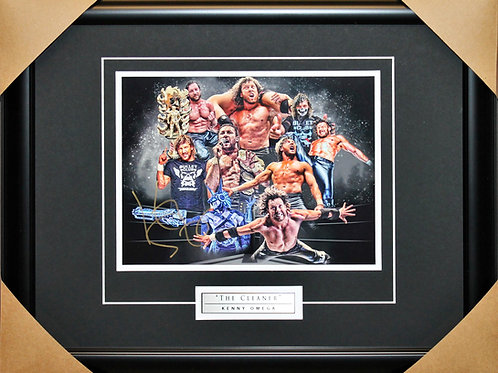 Kenny Omega Signed 8x10 Collage Frame