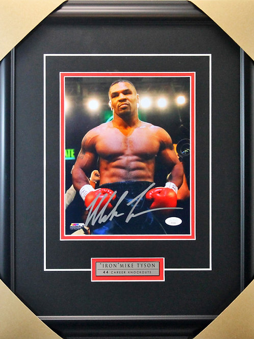 Mike Tyson Signed 8x10 Frame