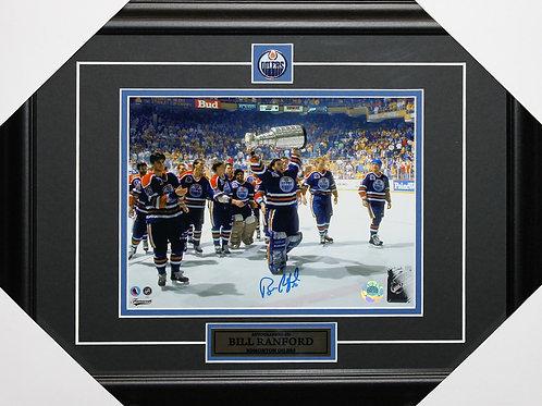 Bill Ranford Signed 8x10 Frame