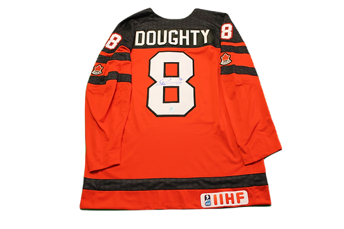 Drew Doughty Signed Canada Jersey