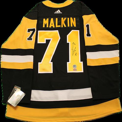 Evgeni Malkin Signed Home Jersey
