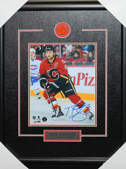 Mark Giordano Signed 8x10 Frame