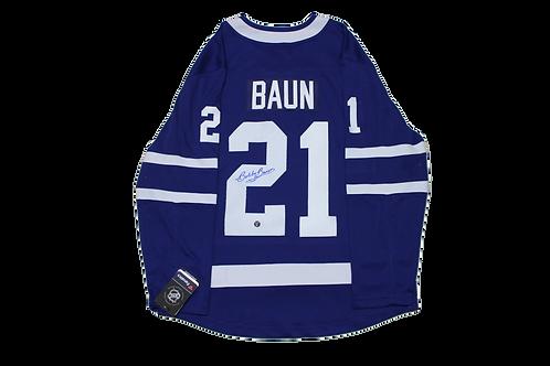 Bobby Baun Signed Home Jersey